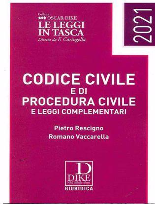 Immagine di Codice civile e codice di procedura civile e leggi complementari pocket Gennaio 2021