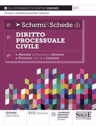 Immagine di Schemi & schede di diritto processuale civile