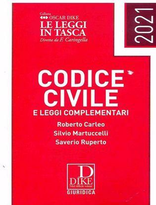 Immagine di Codice Civile e Leggi Complementari Gennaio 2021 Pocket
