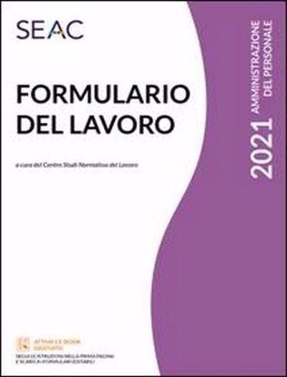 Immagine di Formulario del lavoro 2021