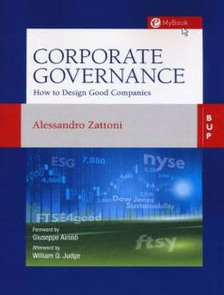 Immagine di Corporate governance. How to design good Companies