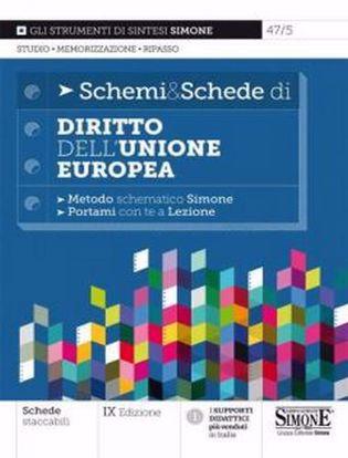 Immagine di Schemi & schede di diritto dell'Unione Europea