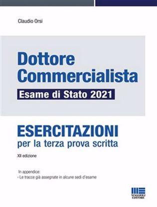 Immagine di Dottore commercialista. Esame di Stato 2021. Esercitazioni per la terza prova scritta