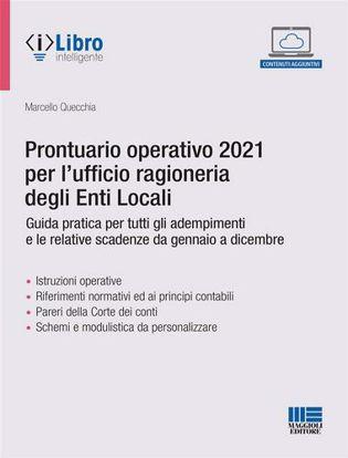 Immagine di Prontuario operativo 2021 per l'ufficio ragioneria degli Enti Locali