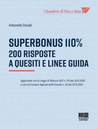Immagine di Superbonus 110%. 200 risposte a quesiti e linee guida