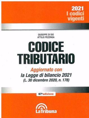 Immagine di Codice tributario. Ed. febbraio 2021