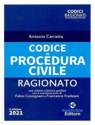 Immagine di Codice di procedura civile ragionato. Ed. febbraio 2021
