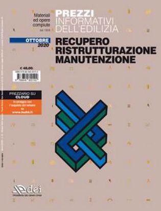 Immagine di Prezzario – Recupero Ristrutturazione Manutenzione – ottobre 2020