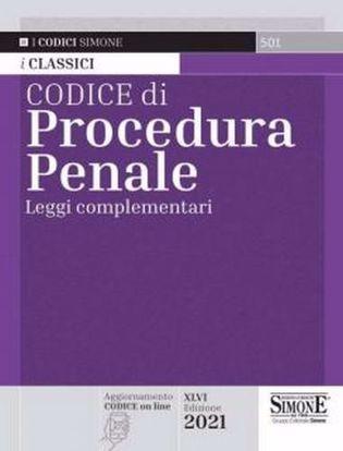 Immagine di Codice di procedura penale. Leggi complementari Ed. Febbraio 2021