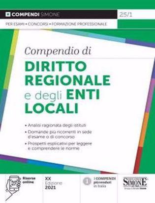 Immagine di Compendio di diritto regionale e degli enti locali