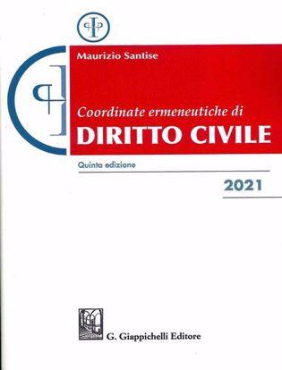 Immagine di Coordinate ermeneutiche di diritto civile 2021