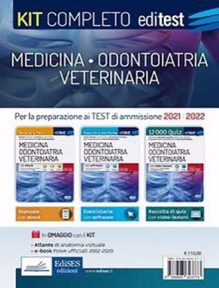 Immagine di Kit completo medicina, odontoiatria, veterinaria. Teoria, esercizi svolti, prove ufficiali commentate e simulazioni d'esame per i test di accesso