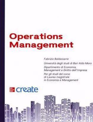 Immagine di Operation management