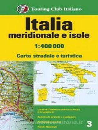 Immagine di Italia meridionale e isole 1:400.000. Carta stradale e turistica