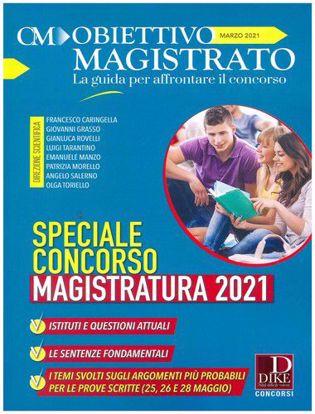 Immagine di Obiettivo magistrato. La guida per affrontare il concorso (2021) vol.3