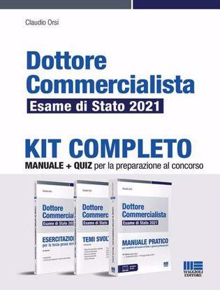 Immagine di Dottore commercialista. Esame di Stato 2021. Kit completo
