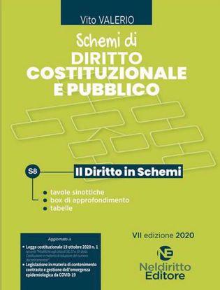 Immagine di Schemi di diritto costituzionale e pubblico