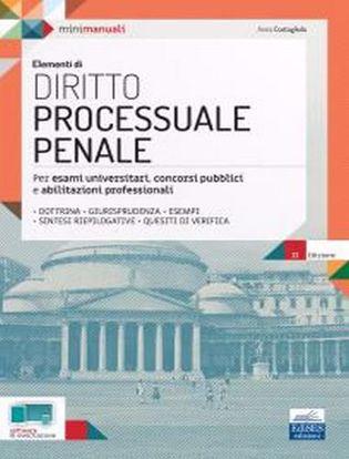 Immagine di Elementi di diritto processuale penale. Per esami universitari, concorsi pubblici e abilitazioni professionali
