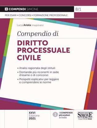 Immagine di Compendio di diritto processuale civile
