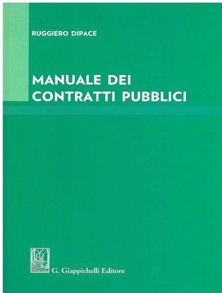 Immagine di Manuale dei contratti pubblici