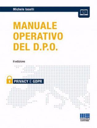 Immagine di Manuale operativo del D.P.O.