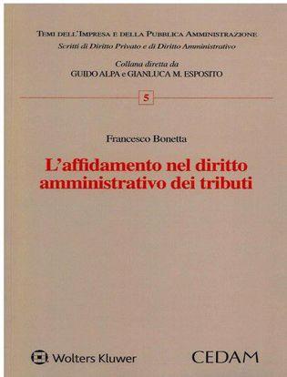 Immagine di L' affidamento nel diritto amministrativo dei tributi