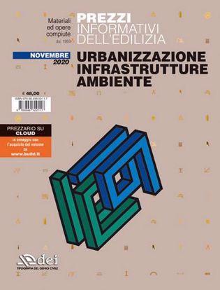 Immagine di Prezzi informativi dell'edilizia. Urbanizzazione infrastrutture ambiente. Novembre 2020