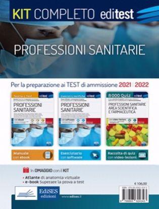 Immagine di Professioni sanitarie. Kit completo. Con 2 e-book. Con software di simulazione. Ed. 2021/2022