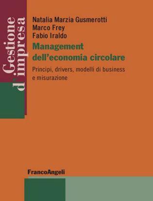 Immagine di Management dell'economia circolare. Principi, drivers, modelli di business e misurazione