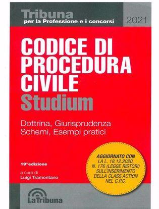 Immagine di Codice di procedura civile Studium. Dottrina, giurisprudenza, schemi, esempi pratici