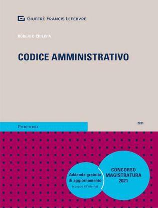 Immagine di Codice amministrativo. Concorso magistratura 2021