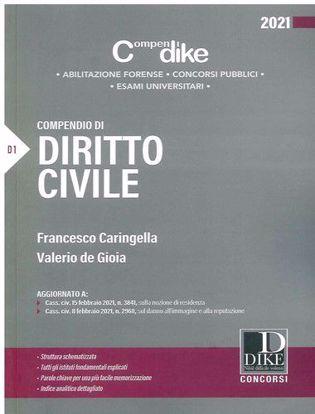 Immagine di Compendio di diritto civile 2021