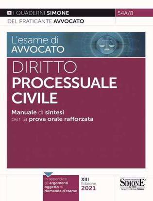 Immagine di Diritto processuale civile. Manuale di sintesi per la prova orale rafforzata