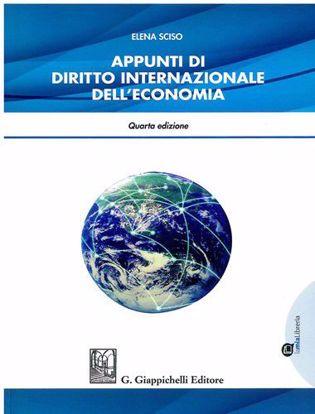 Immagine di Appunti di diritto internazionale dell'economia