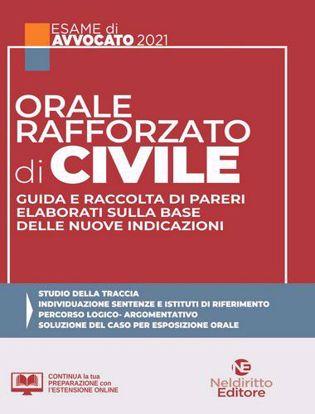 Immagine di Orale Rafforzato di Civile: Guida e Raccolta di Pareri elaborati sulla base delle nuove indicazioni