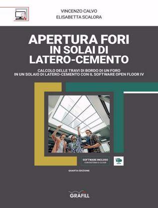 Immagine di Apertura fori in solai di latero-cemento. Con software