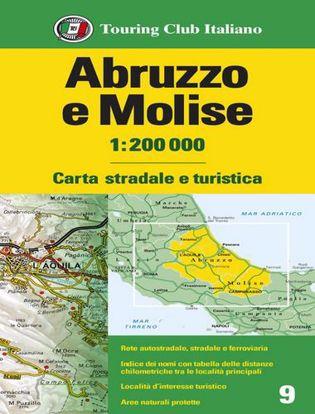 Immagine di Abruzzo e Molise 1:200.000. Carta stradale e turistica. Ediz. multilingue