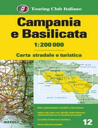 Immagine di Campania e Basilicata 1:200.000. Carta stradale e turistica. Ediz. multilingue