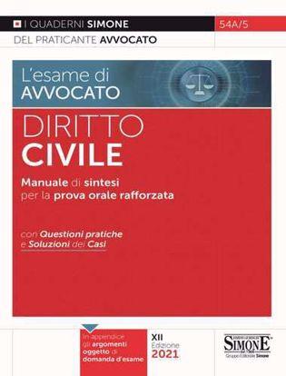 Immagine di Diritto civile. Manuale di sintesi per la prova orale rafforzata. Con questioni pratiche e soluzioni dei casi