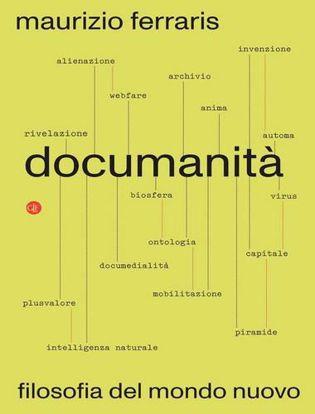Immagine di Documanità. Filosofia del mondo nuovo