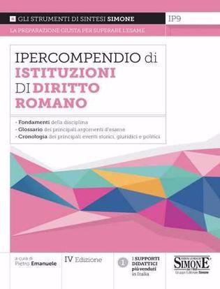 Immagine di Ipercompendio istituzioni di diritto romano