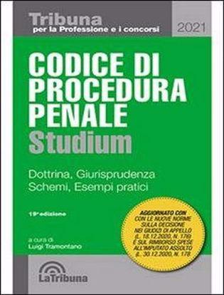 Immagine di Codice di procedura penale Studium. Dottrina, giurisprudenza, schemi, esempi pratici 1/2021