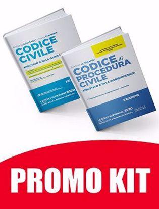 Immagine di Kit Esame Avvocato: Codice Civile + Codice di Procedura Civile Annotati con la Giurisprudenza 2020