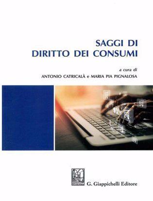 Immagine di Saggi di diritto dei consumi