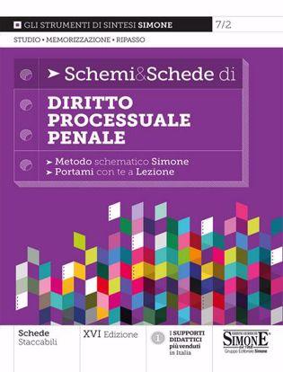 Immagine di Schemi & schede di diritto processuale penale