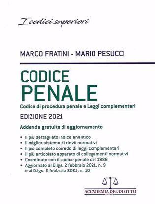 Immagine di Codice Penale – Codice di Procedura Penale e Leggi Complementari 2021
