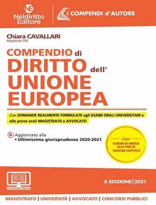 Immagine di Compendio di diritto dell'Unione Europea