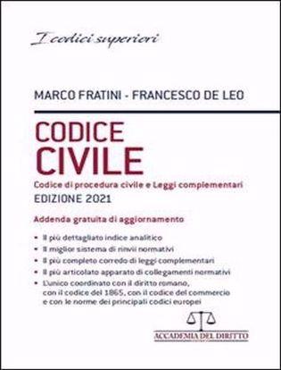 Immagine di Codice Civile – Codice di Procedura Civile e Leggi Complementari 2021