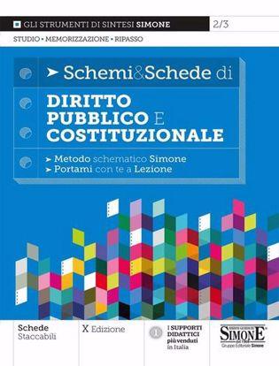 Immagine di Schemi & Schede di Diritto Pubblico e Costituzionale