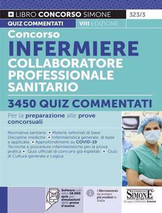 Immagine di Concorso Infermiere Collaboratore professionale sanitario – 3450 Quiz commentati